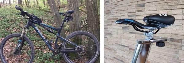 Sportlicher Prostata Sattel für Rennrad und Mountainbike
