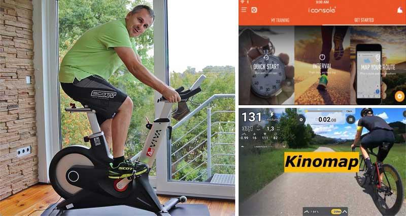Das Bild zeigt das Asviva S17 Indoor Cycle im Test