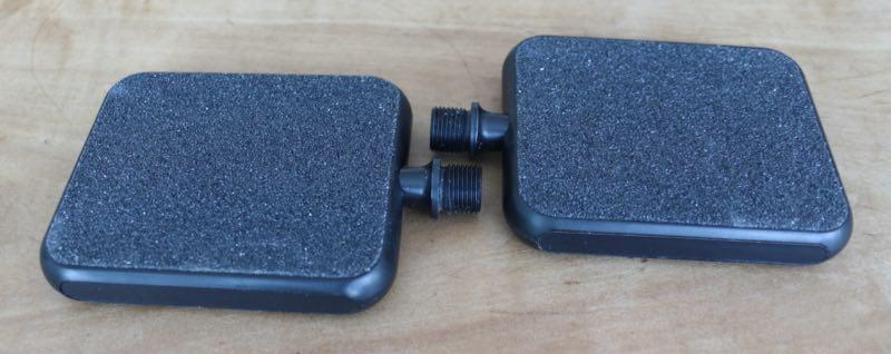 Das Bild zeigt das Testsieger Pedal Moto Reflex Black